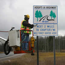Traverse Bay Chapter Adopts Road